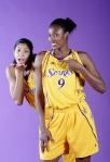 Lisa Leslie and Candace Parker