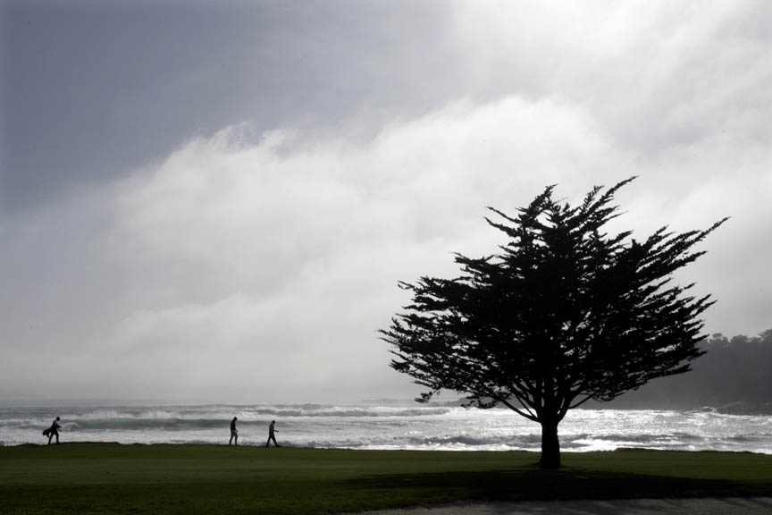 Covering Pebble Beach
